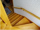 階段の手すり取付事例
