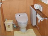 トイレの手すり取付事例